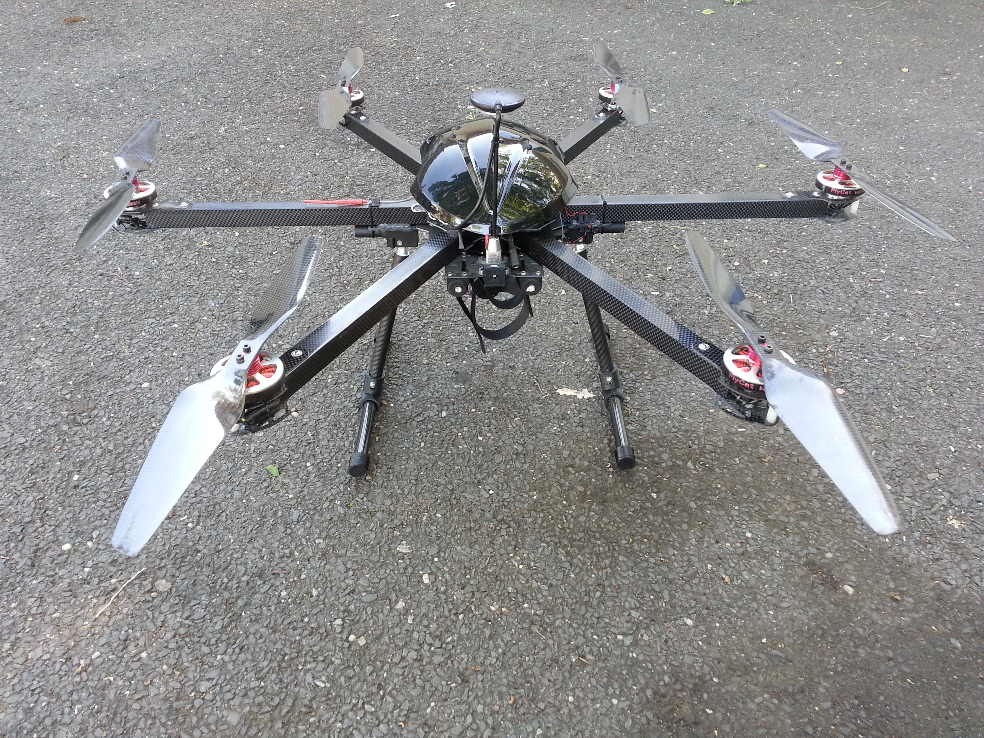 4k HD Thermal Imaging Hexacopter Drone